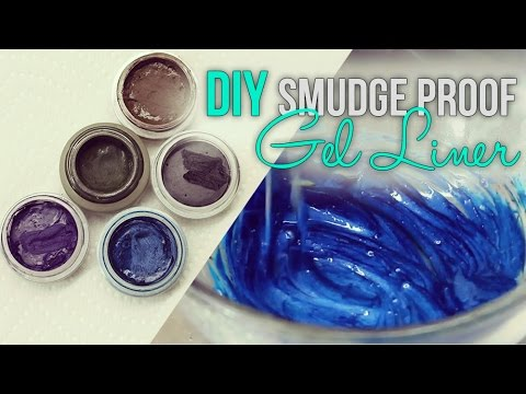 DIY Smudge Proof Gel Eye Liner
