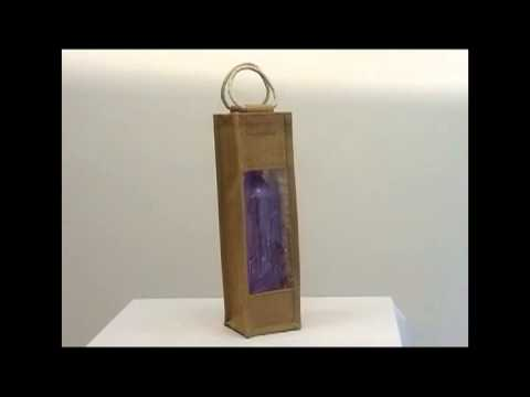 Jute Wine Bags Wholesale | Personalized Wine Bottle Bags | Wine One Bottle Bags