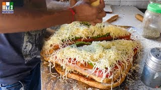 HOW TO MAKE Masala Grill Sandwich | ROADSIDE STREET FOOD | STREET FOOD IN INDIA | 4K VIDEO