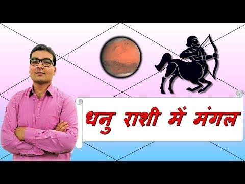 धनु राशि में मंगल के परिणाम (Mars In Sagittarius) | ज्योतिष (Vedic Astrology) | हिंदी (Hindi)