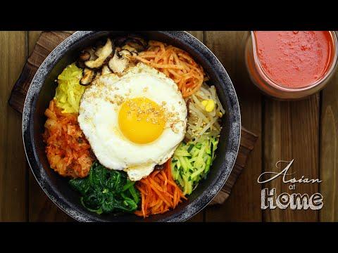 Dolsot Bibimbap (Korean Stone Pot Bibimbap)