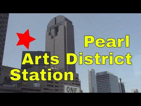 DART Pearl Street Station Dallas Area Rapid Transit Texas Subway Downtown Public Transportation TX