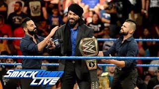 Jinder Mahal continues to taunt Shinsuke Nakamura: SmackDown LIVE, Sept. 26, 2017
