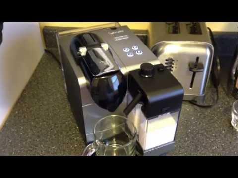 DeLonghi Nespresso Lattissima plus latte / cappuccino maker overview