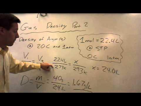 Gas Density Part II