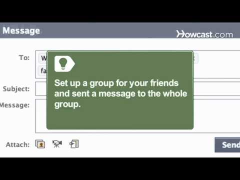 How to Send a Message to All Friends on Facebook