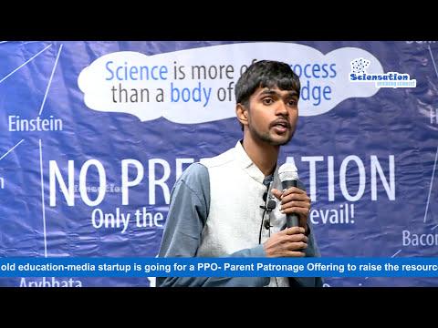 Sciensation PPO Crowdfunding