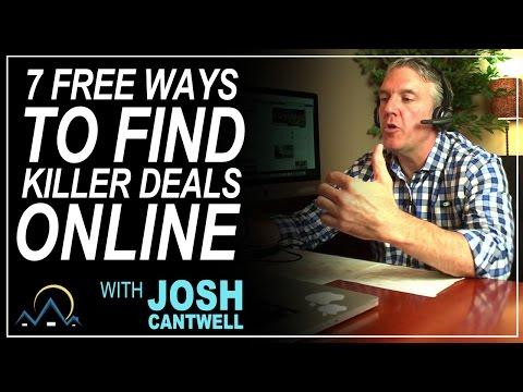 7 FREE Ways to Find Killer Deals Online