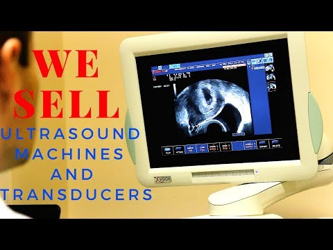 WE SELL ULTRASOUND MACHINES AND TRANSDUCERS (IMAGING SOLUTIONS)