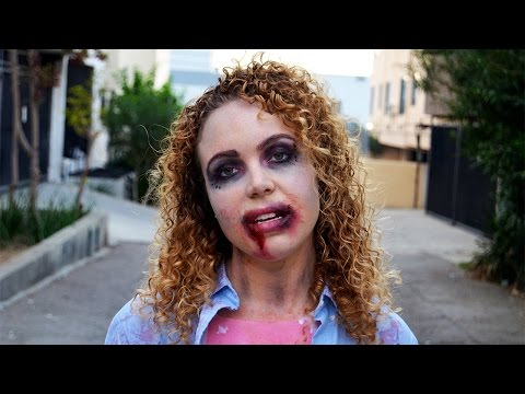 Easy Walking Dead Zombie Costume Tutorial