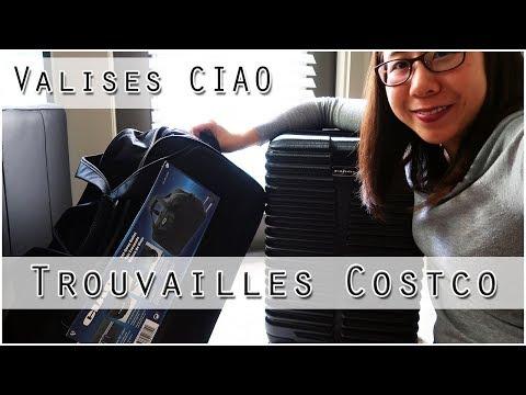 Deux valises CIAO du COSTCO - Une souple et une rigide | Sandra Ty