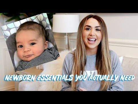 NEWBORN BABY MUST HAVES! WHAT WORKED AND WHAT DIDN'T | ALEXANDREA GARZA
