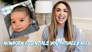 NEWBORN BABY MUST HAVES! WHAT WORKED AND WHAT DIDN