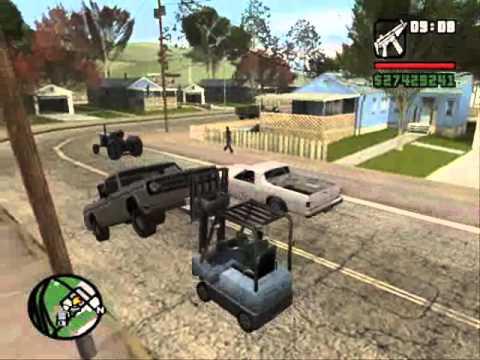 Retarded Moments in GTA SA Episode 2