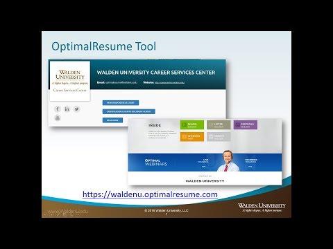 Building Your Prior Learning Portfolio with OptimalResume