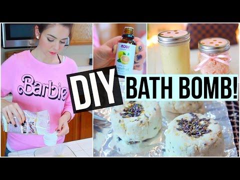 DIY Bath Bomb, Body Scrub & Body Butter! LUSH Inspired!