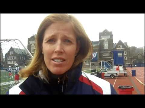 Penn Women's Lacrosse Preps for Maryland, Columbia