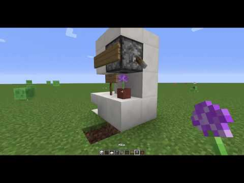 Minecraft How to make a working cotton candy machine