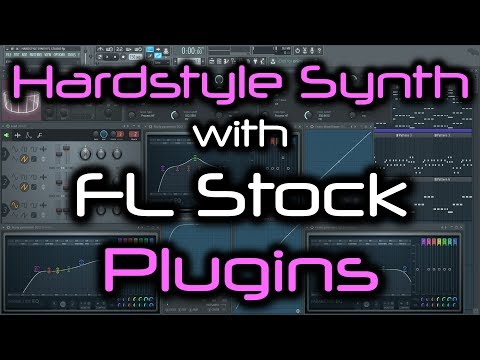 HARDSTYLE SYNTH FL STUDIO | How to Make a Hardstyle Lead with FL Studio Stock Plugins ONLY