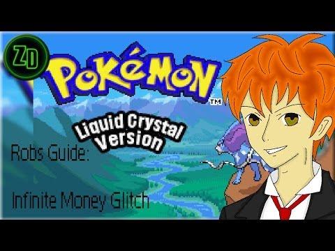 Pokemon Liquid Crystal   Infinite Money Glitch