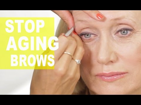 Anti-Aging Eyebrow Tricks That Take Years Off Your Face  | NewBeauty Tips & Tutorials