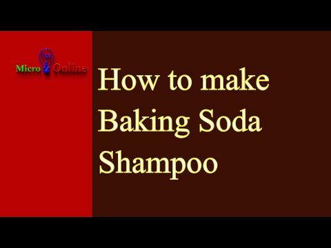 DIY Baking Soda Shampoo | How To Make Baking Soda Shampoo | Homemade Shampoo