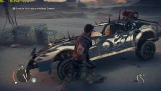 GTX 1070 Xtreme Gaming Mad Max Gameplay 1440p Maxed Out con Vsync