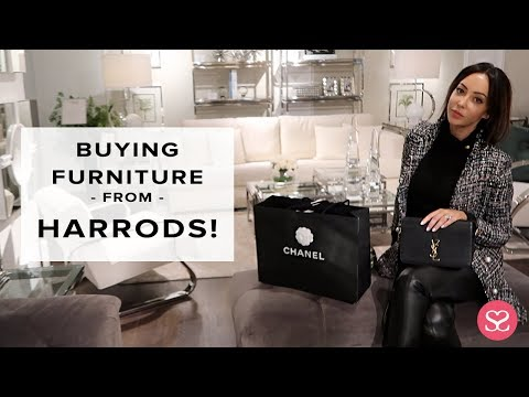 I'M LETTING HARRODS HANDLE THIS... | Luxury Shopping Vlog | Sophie Shohet