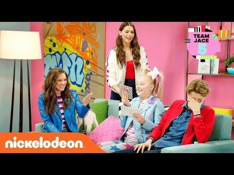 Team Jace vs. Team Owen: Secret Word Challenge 🤯 | Kids' Choice Awards 2018 | Nick
