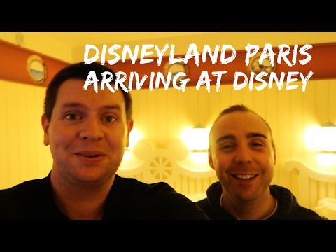 Disneyland Paris Vlog - January 2017 - Part 2 - Travel Day & Check in at Disney's Newport Bay