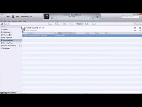 How to automatically download music to iTunes