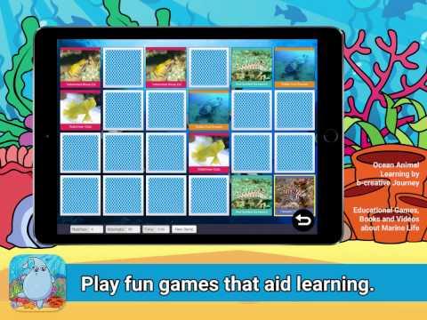 Ocean Animal Learning by b-creative Seas - An educational app for kids.
