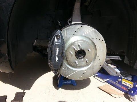 370z Brake & Rotor Upgrade - TUTORIAL PART 1