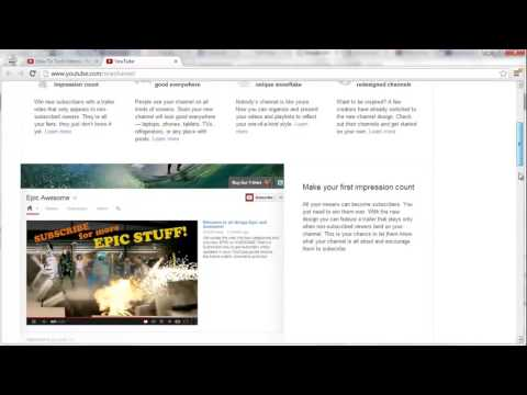 How To Get Old YouTube Layout Back (2013)