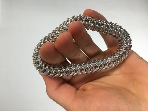 Box Chain Bracelet Tutorial