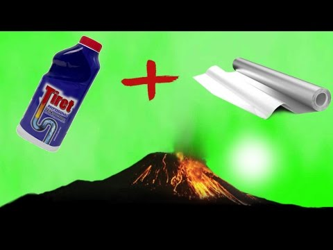 HOW TO MAKE VOLCANO BY YOURSELF