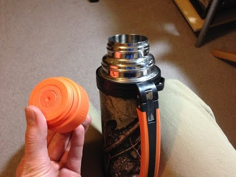 How to Fix a Push Button Thermos Cap