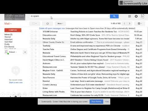 how to check your spam folder and mark an email as NOT spam