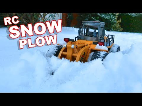 $30 AWESOME RC Snow Plow - Huina Toys 1586 - TheRcSaylors