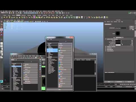 Wireframe Rendering in Maya 2014 using Mental Ray