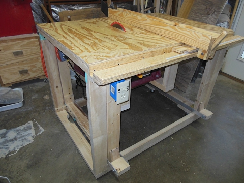 DIY Table saw: Part 3