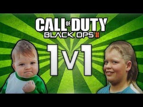 1v1 Trash talker in Call of Duty Black ops 2