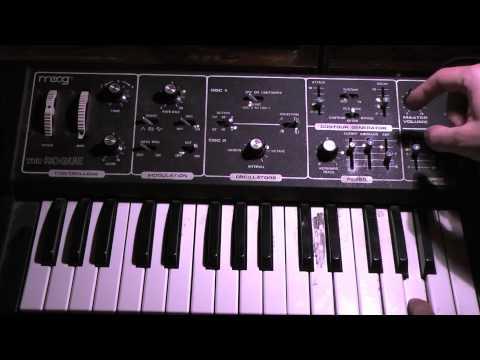 Band on the Run - Moog demo