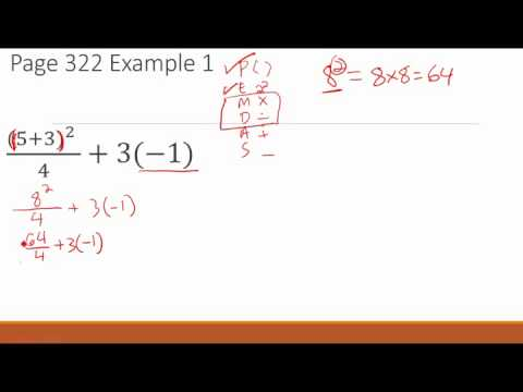 Order of Operations - GED Math