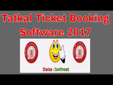 Tatkal Ticket Booking Trick 2017