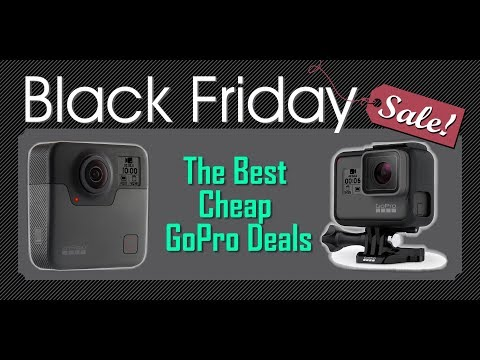 Review The Best Cheap GoPro Deals On Black Friday 2017