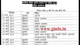 VKSU Ara B A/B Sc, B Com part 3 2017 exam updated schedule