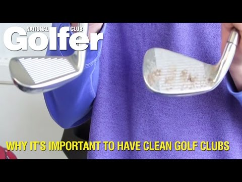 Why it is important to have clean golf clubs