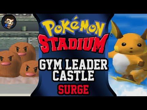Pokémon Stadium - Gym Leader Castle | Surge |