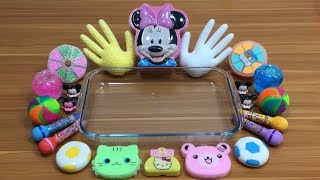 Download Special Series Mickey Mouse & Minnie Slime   Mixing Floam Into Clear Slime And Store Bought Slime